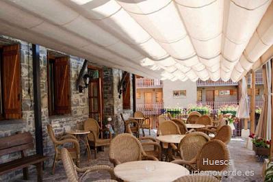 TURISMO VERDE HUESCA. Hotel Sabocos en Panticosa.