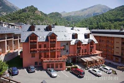 TURISMO VERDE HUESCA. Hotel Sabocos en Panticosa